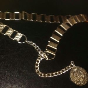 Accessories - Chain Gold Toned Maria Theresa Coin Belt M\L